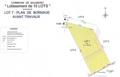Terrain à bâtir - 771 m²