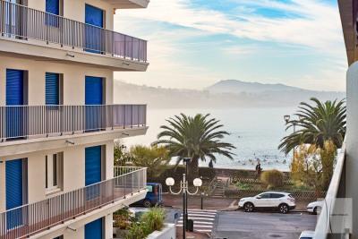 St JEAN PLAGE – appartement 4 pièces vue latérale sur la Baie