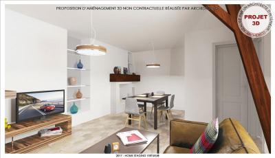 Appartement auxerre - 3 pièce (s) - 55 m²