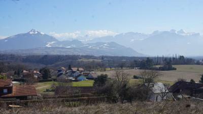 Terrain viabilisé - Colline Vétraz-Monthoux