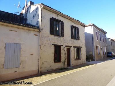 Maison de village monclar - 3 pièces - 76.5 m²