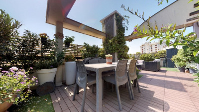 Montrouge Appartement terrasse 102 m²