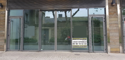 A LOUER Local commercial Quimper 137 m²
