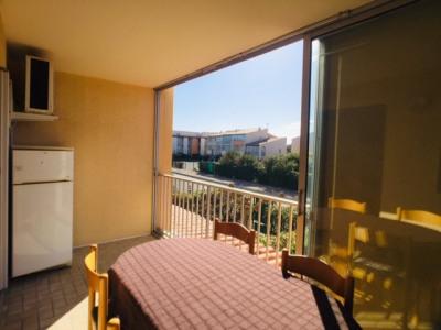 Le cap d'agde - appartement T2 + cabine + loggia + parking