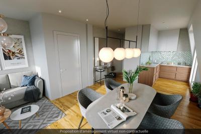 Appartement 1 pièce (s) 27 m²