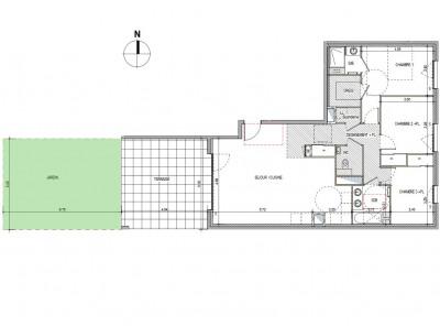 Vente appartement Charbonnières-les-Bains (69260)