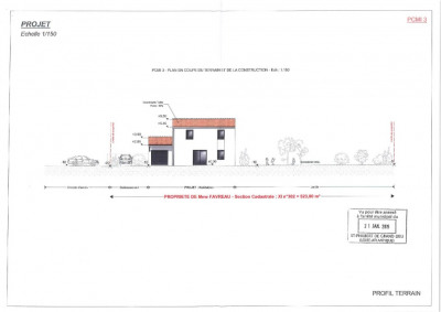 Terrain constructible st philbert de grand l. - 523 m²