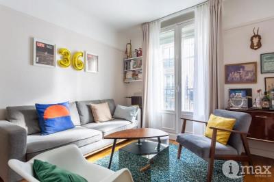 Paris 18ème - damrémont/marcadet - 2 pièces avec balcons