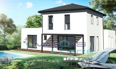 Terrain 660m² + maison 140m² avec garage de 30m² à MONTELIMAR