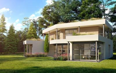 Terrain avec permis de construire - 2 975 m² - 5 ch