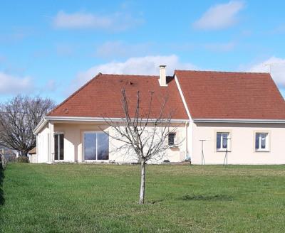Villa de plain-pied - 4 chambres - garage double