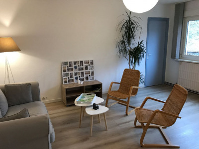 Saint-omer - beau T2 meublé - très lumineux