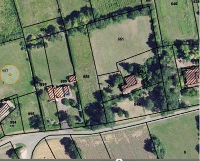 Terrain a bâtir st hilaire de lusignan - 2450 m²