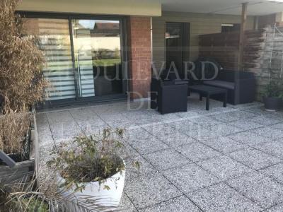 Tourcoing 2 pièce (s) 49.13 m² avec terrasse jardin