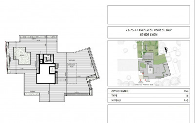 Vente de prestige appartement Lyon 5ème (69005)