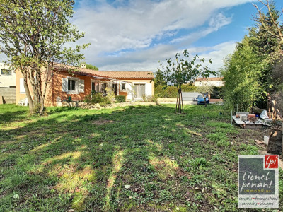 Carpentras serres villa T5 122m² + garage terrain 1035m²