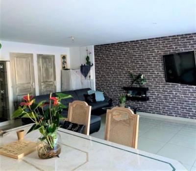 Appartement duplex rez-de-jardin