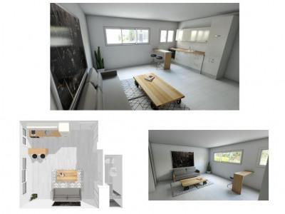 Studio 28m²