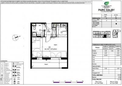 Appartement Nantes 2 pièce (s) 33 m²