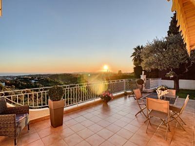 NICE GAIRAUT Villa 183 m², terrain 1000m², vue mer