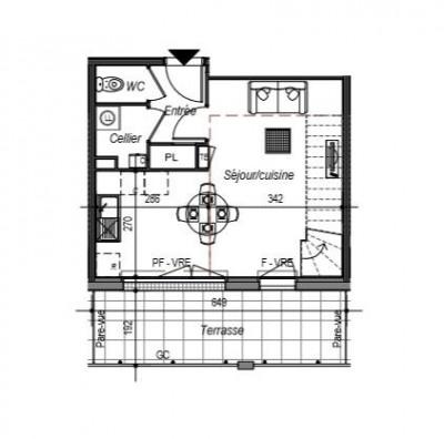 Appartement Saint Gilles Croix De Vie 3 pièce(s) 70.52 m2