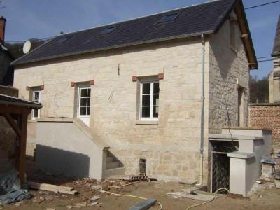 Maison pierre et brique