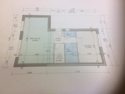 Maison 2 pièce (s) 49 m²