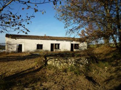 Farm building 3 rooms Cazideroque