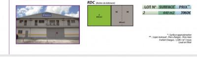 Bureaux Les Abymes 440 m² - A LOUER ! -