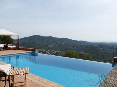 La Londe Les Maures villa à vendre avec piscine et vue mer