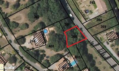 Terrain à bâtir 360 m²