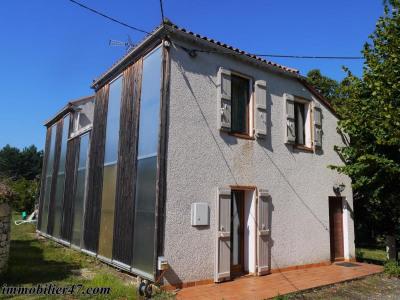 Maison d'habitation laugnac - 5 pièces - 100 m²