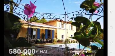 Villa 5 chambres, piscine, terrain de 913m² - secteur reche