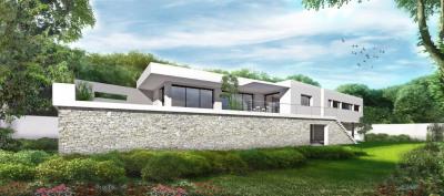 Terrain constructible maison contemporaine - ventabren