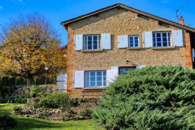 Beaujolais pierres dorées, propriété en pierres, 360 m² habi