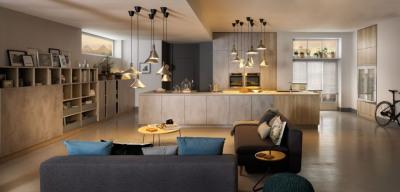 Appartement 3 pièces avec terrasse jardin et parking