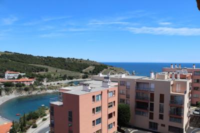 Banyuls-Sur-Mer - Appartement 2 pièces 36 m² vue mer Parking