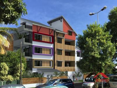 Appartement Saint-paul - 3 pièce (s) - 52.56 m²