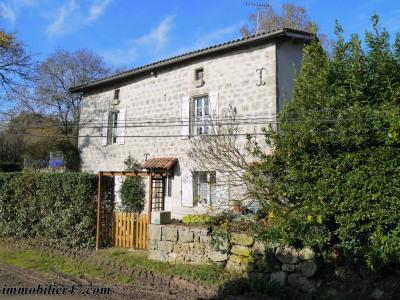 Maison en pierre prayssas - 4 pièces - 130 m²