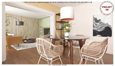 Colomiers -Appartement Type 3 de 75m²