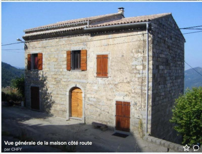 Stone-built property 4 rooms