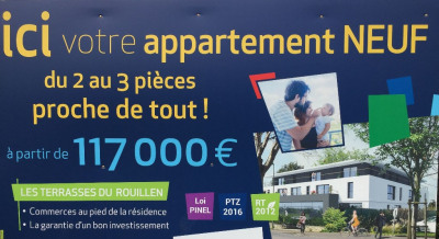 Sale apartment Ergue Gaberic (29500)