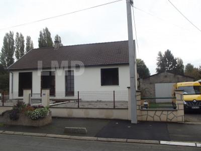 Maison traditionnelle de 75m² sur sous-sol terrain de 1900m²