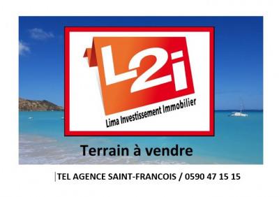 Terrain Saint François 1000 m²