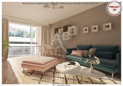 Blagnac T3 de 65 m²