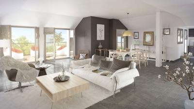 Appartement 4 pièces, avec grand Balcon