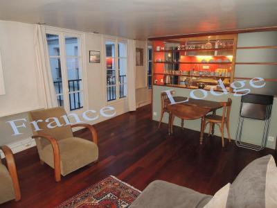 Short-term rental apartment Paris 3ème