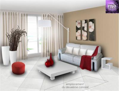 Appartement 3 pièces en rez-de-chaussée 61.6 m² avec parking