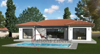 Terrain 1200m² + maison