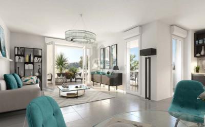 Appartement T3 de 63m² avec une terrasse de 10m² et parking
